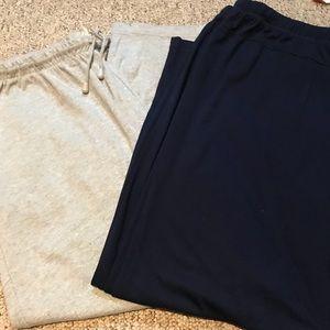 Pants - 2 pairs of plus size lounge pants. 3x